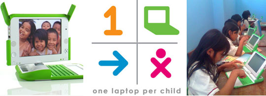 India werkt mee aan One Laptop Per Child project