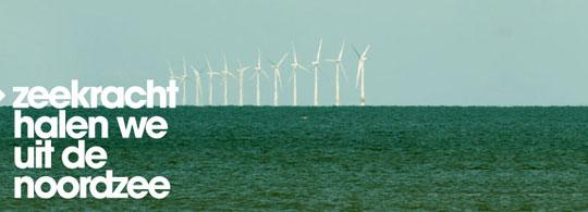 Stichting Natuur en Milieu bouwt windmolens op zee