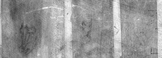 Louvre ontdekt mogelijke schetsen Da Vinci